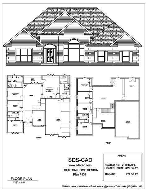 Blue Prints For Houses by Sdscad House Plans 18 Sds Plans