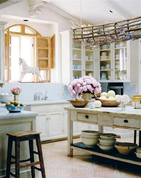 Shabby Chic Kitchen Island Interesting Facts About Shabby Chic Country Kitchen Design Decozilla