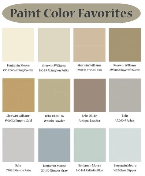 what color is tope hgtv color palette hgtv popular paint colors remodel