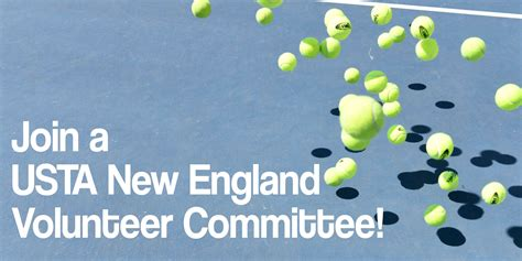 usta sectionals join a usta new england committee