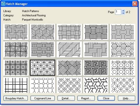 how to create autocad hatch patterns easily hatch manager