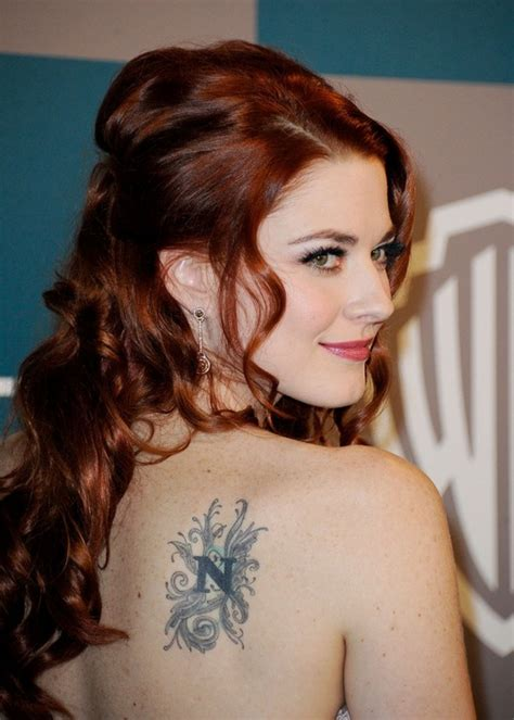 alexandra breckenridge tattoos alexandra breckenridge s tattoos lettering on