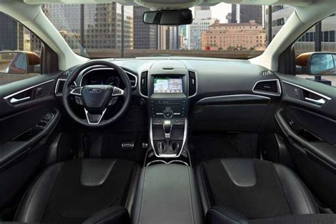 Ford Edge Interior 2017 ford 174 edge suv photos colors 360 176 views