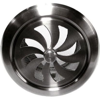 Grille Ventilation Reglable by Grille Inox R 233 Glable Dmo Ronde Diam 232 Tre 100 Mm De