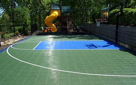 backyard sport backyard sport courts house plans and more