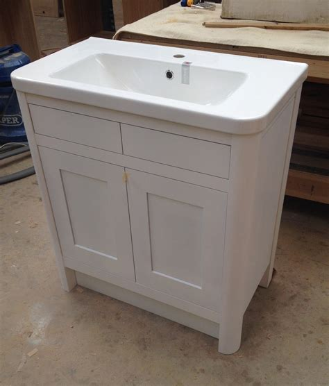 Bespoke Bathroom Vanity Units Oak And Painted Dc Furniture Bathroom Vanity Units
