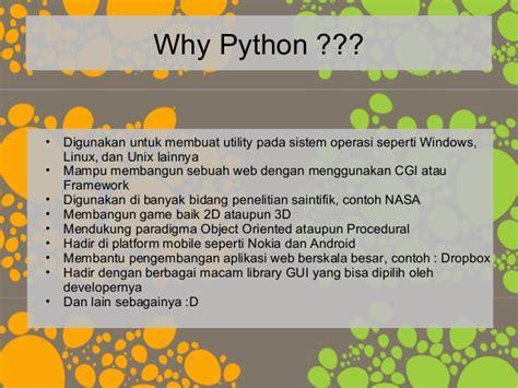 membuat game dengan python pelatihan python dasar part 1 poss upi