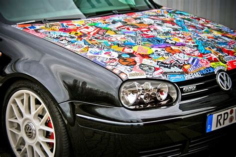 Auto Sticker Bomb by Sticker Bomb Is A Style Of Optical Tuning Where The