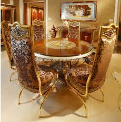 French Style Dining Room luxury french home dining room golden food service trolley classic