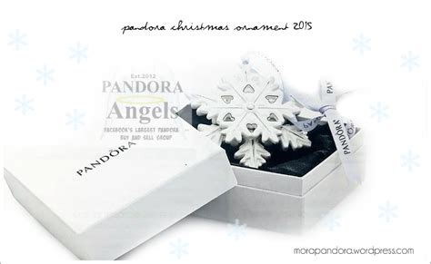 preview pandora christmas ornament promotion 2015 mora