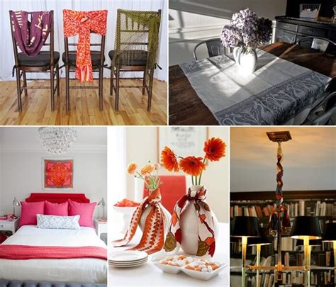 ways to decorate your home cool ways to decorate your home with scarves