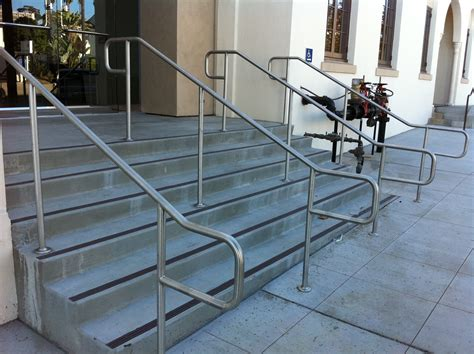handicap handrails for stairs handrails make all the