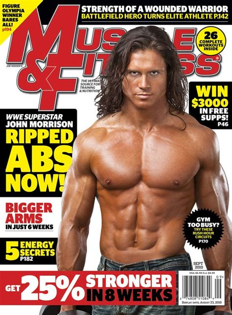 muscle and fitness muscle fitness september 2010 issue preview wwe