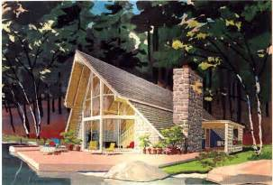 Frame House Plans Home Ideas 187 Modified A Frame House Plans