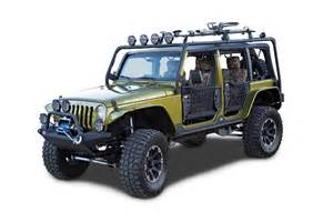 Jeep Unlimited Roof Rack 07 11 Jeep Jk Unlimited Roof Rack Base Unit Low Price
