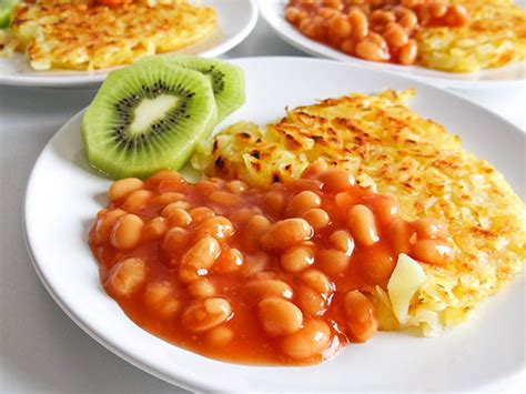 Hubby?s breakfast #064: Rosti and baked beans
