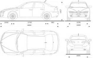 Alfa Romeo 159 Specifications Blueprints De Autos Viejos Y Nuevos Taringa
