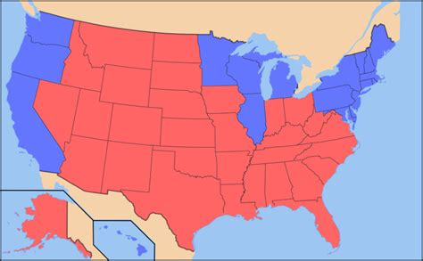 american dialects a state blue state divide