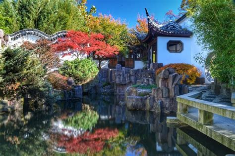 Snug Harbor Cultural Center Botanical Garden Fallcolors Recent Photos