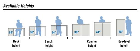 average height of a bar top designing an efficient modular drawer storage cabinet