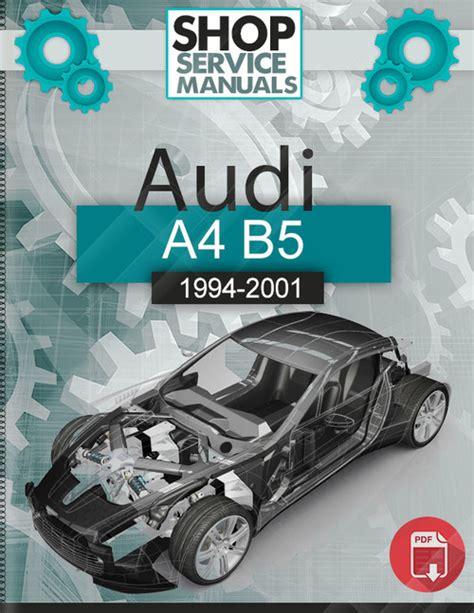 audi a4 b5 1994 2001 factory service repair manual download pdf d audi a4 b5 1994 2001 service repair manual download download manu