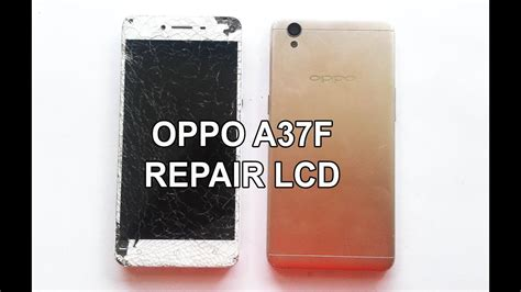 ganti lcd touchscreen oppo  af youtube