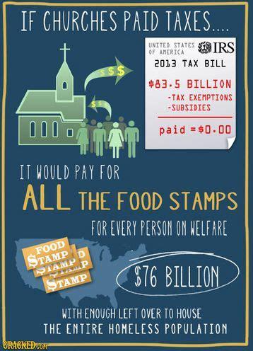 what taxes do churches pay