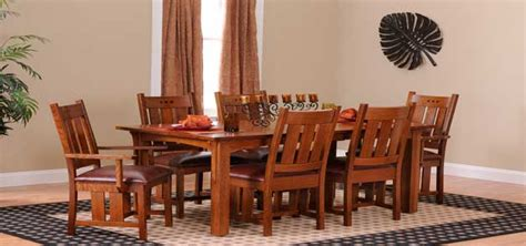arts and crafts dining room set arts and crafts dining room set 13165