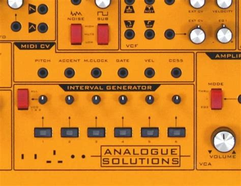 horizontal patternator analogue solutions fusebox synthesizer with patternator
