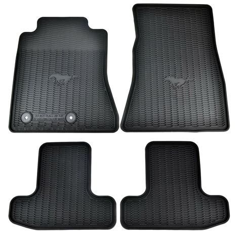 Ford Mustang Mats - oem new 15 17 ford mustang all weather vinyl contour floor