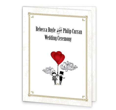 mass booklets templates for weddings l amour wedding mass booklet cover loving invitations