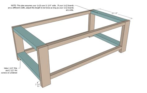 Coffee Table Diy Instructions 187 Woodworktips Free Coffee Table Plans