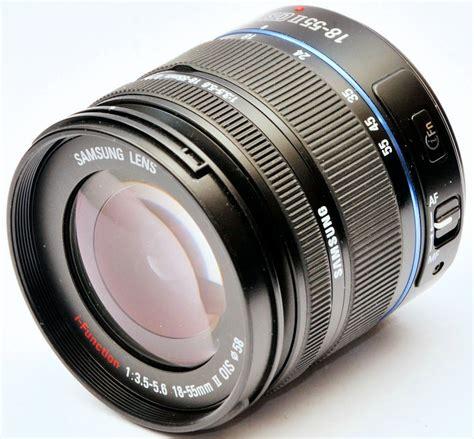 Samsung Zoom Lens Samsung 18 55mm F 3 5 5 6 Nx Ed Ois Ii I Function Zoom Lens Review Ephotozine