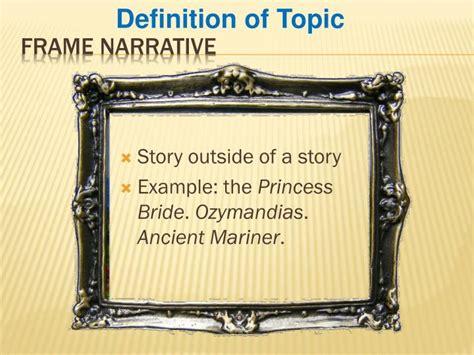 in frame narrative exle of a frame story in frankenstein frameswalls org
