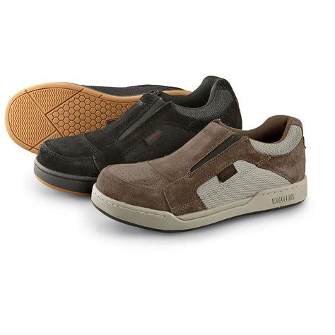 s wolverine 174 glide steel toe slip on shoes 178554
