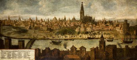 cuadros del siglo xviii file vista de sevilla siglo xviii jpg wikimedia commons