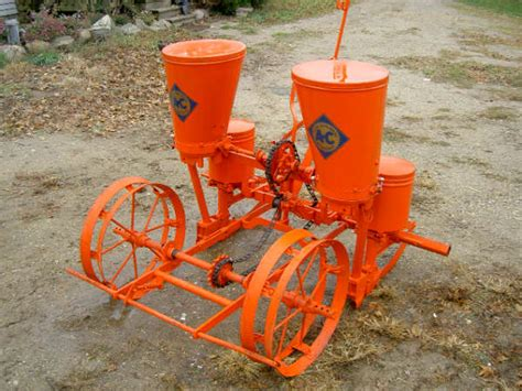 2 Row Planter by What Model Is This Ac 2 Row Planter Allischalmers Forum