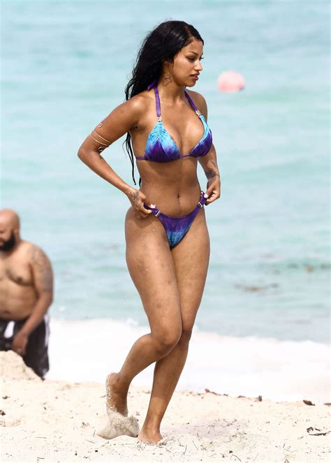 fanny neguesha in blue bikini 2017  43   gotceleb