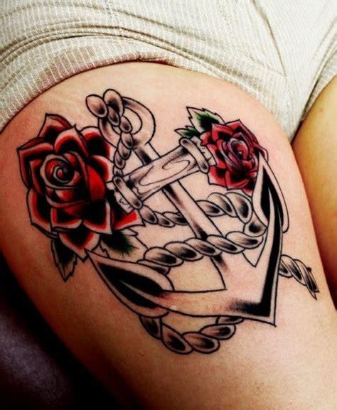 tattoo old school amicizia tatuaggio ancora storia significato ed immagini