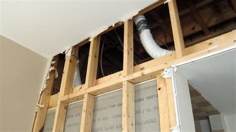 bathroom ventilation pipe poorly installed bath fan vents can cause serious problems