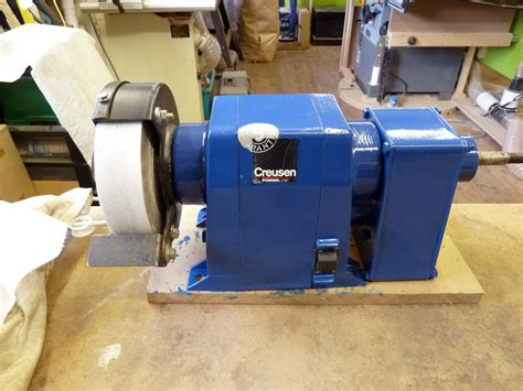 creusen bench grinder theworkshop creusen bench grinder