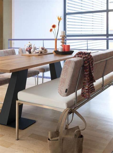 moderne eethoek met bank eettafel bank huis inrichten
