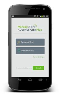mobile apps  active directory user account management