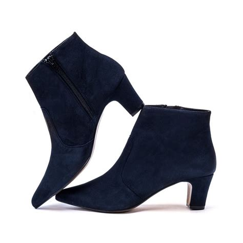 navy suede ankle boots ankle boots mandarina shoes