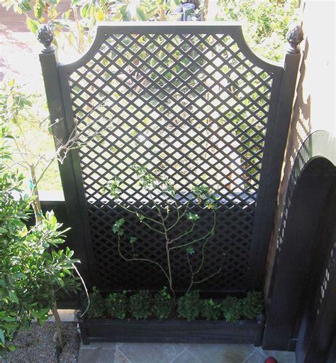 Treillis Bois Pour Plantes Grimpantes by Treillis Pour Fleurs Grimpantes