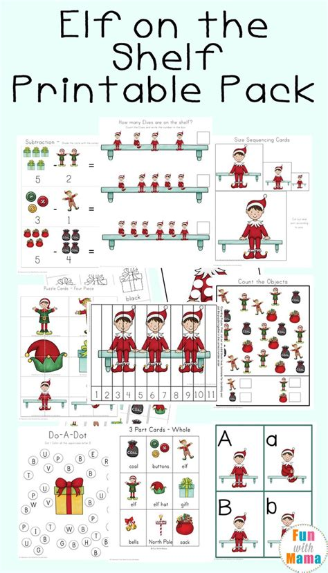 printable elf stuff 10481 best play based learning images on pinterest