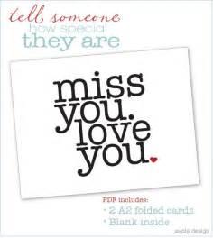 miss you card diy ideas pinterest