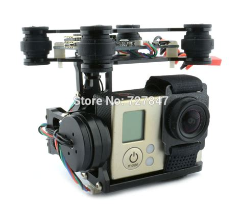Rtf version 2 axis brushless gimbal camera mount with bgc 3 12 storm32 controller for gopro 3 4