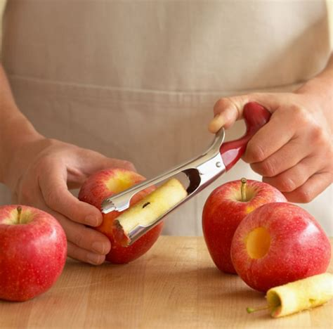 funny kitchen gadget with apple corer