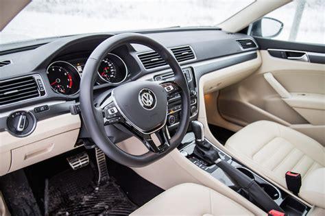 white volkswagen passat interior review 2018 volkswagen passat tsi r line canadian auto